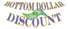 Bottom Dollar Discount Logo